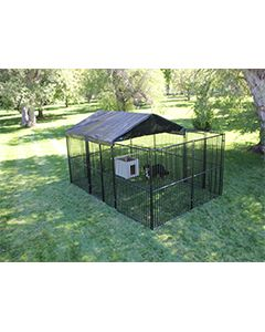 10' x 15' Complete European Style Dog Kennel