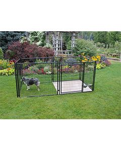 10' X 20' Complete 4' Tall Wire Kennel