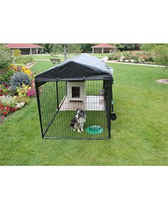 10' X 20' Ultimate 4' Tall Dog Kennel