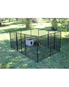 15' X 20' Basic European Dog Kennel