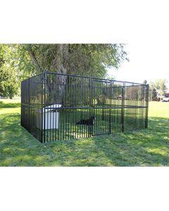 20' X 20' Basic European Dog Kennel