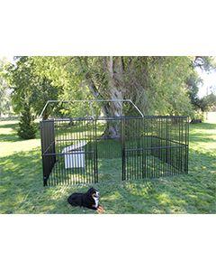 20' X 25' Basic European Dog Kennel