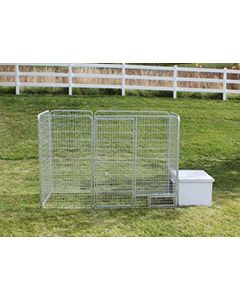 4' X 10' Basic K9 Condo PRO Dog Kennel