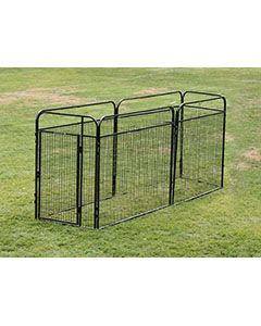 4' X 10' Basic Standard Dog Kennel (Powder-Coated)