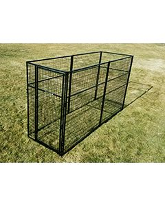 4' X 12' Basic 7' Tall Wire Kennel (Powder-Coated)