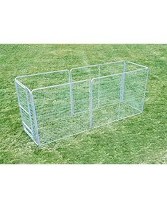 6' X 14' Basic Dog Kennel Pro (Galvanized)
