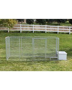 4' X 16' Basic K9 Condo PRO Dog Kennel