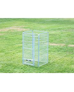 4' X 4' Basic Dog Kennel Pro (Galvanized)