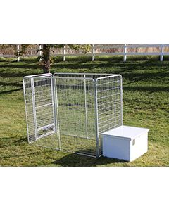 4' X 8' Basic K9 Condo PRO Dog Kennel