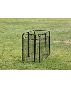 4' X 8' Basic Standard Dog Kennel (Powder-Coated)