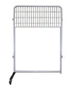 4' Kennel PRO Partition/Room Divider Panels (White)