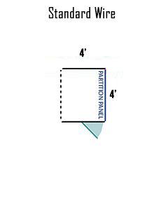 4' X 4' Multiple Standard Full Stall Dog Kennels ADDITIONAL STALLS