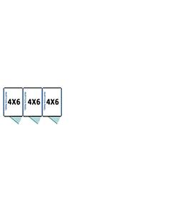 4' X 6' Multiple Standard Full Stall Dog Kennels x3