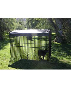 5' x 10' Complete European Style Dog Kennel