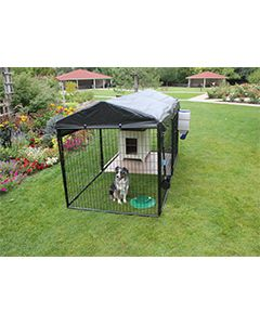 5' X 10' Ultimate 4' Tall Dog Kennel