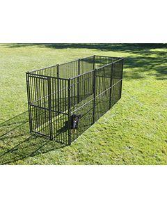5' X 15' Basic European Dog Kennel
