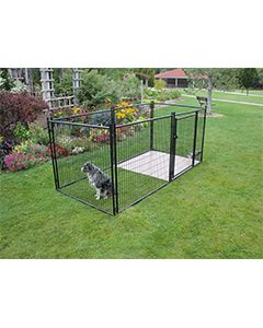 5' X 15' Complete 4' Tall Wire Kennel