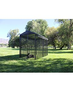 5' x 15' Complete European Style Dog Kennel