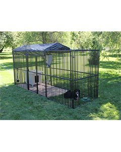 5' X 15' European Ultimate Dog Kennel (Standard)