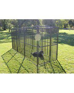 5' X 20' Basic European Dog Kennel