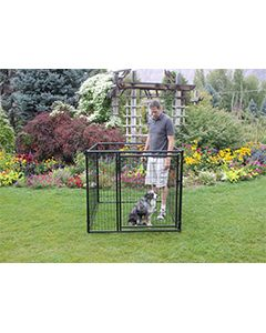5' X 20' Complete 4' Tall Wire Kennel