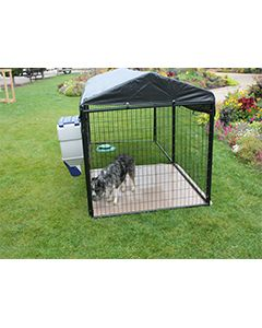 5' X 20' Ultimate 4' Tall Dog Kennel