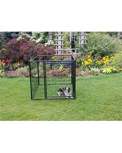 5' X 5' Complete 4' Tall Wire Kennel