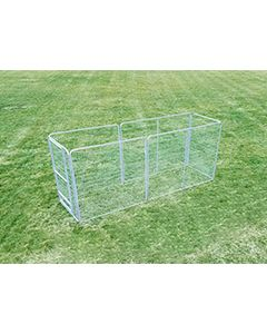 6' X 10' Basic Dog Kennel Pro (Galvanized)