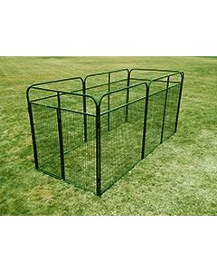 6' X 14' Basic Standard Dog Kennel (Powder-Coated)
