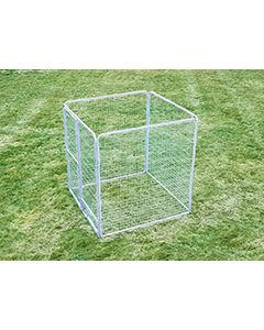 6' X 6' Basic Dog Kennel Pro (Galvanized)