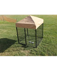 6 'x 6' Complete Standard Kennel (Powder-Coated)