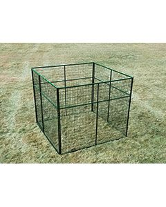 6' X 8' Basic 7' Tall Wire Kennel (Powder-Coated)