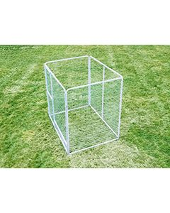 6' X 8' Basic Dog Kennel Pro (Galvanized)