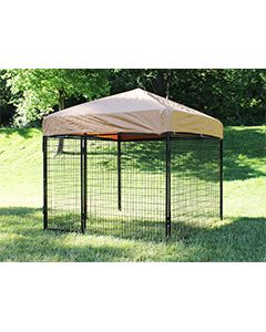 6' X 8' Complete Standard Kennel (Powder-Coated)