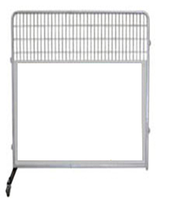 6' Kennel PRO Partition/Room Divider Panels (White)