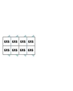 6' X 6' Multiple PRO Back To Back Dog Kennels x4