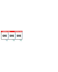 6' X 6' Multiple PRO No Back Dog Kennels x3
