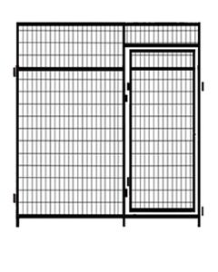 7' Tall Welded Wire Door Panels