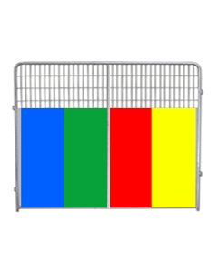 Kennel PRO Panels With Color Anti-Fight
