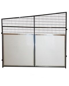 Angled Anti-Fight Kennel Stall Side Panel