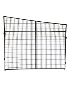Angled Welded Wire Kennel Stall Side Panel