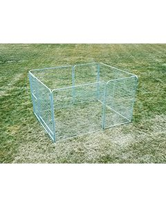 8' X 10' Basic Dog Kennel Pro (Galvanized)