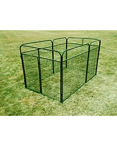 8' X 10' Basic Standard Dog Kennel (Powder-Coated)