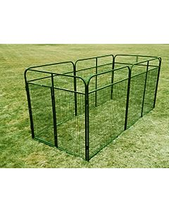 8' X 14' Basic Standard Dog Kennel (Powder-Coated)