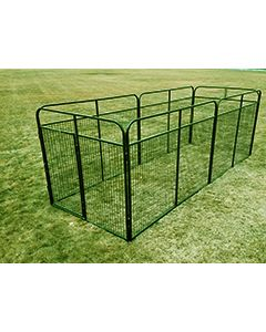 8' X 16' Basic Standard Dog Kennel(Powder-Coated)