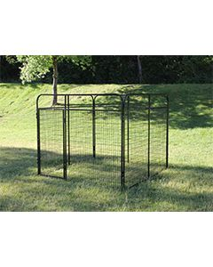 8' X 8' Basic Standard Dog Kennel (Powder-Coated)