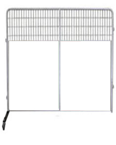 8' PRO Partition/Room Divider Panel (White)