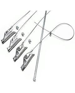 Kennel Securing Anchor Stakes