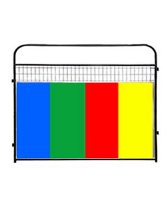 Standard Wire Panels With Color Anti-Fight