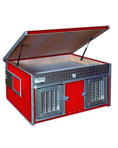 Solid Color Style Top Storage Deluxe Dog Box